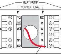 wiring diagram honeywell thermostat wiring diagram for heat pump