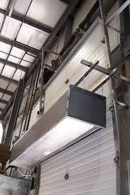 ambient air curtain horizontal industrial door idc12 series