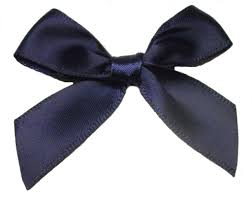 navy blue satin ribbon navy blue satin ribbon bows choose from 3mm 7mm or 15mm 30pk