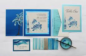 tropical watercolor wedding invitations momental designsmomental