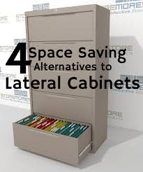 Lateral File Cabinet With Storage Lateral File Cabinet Alternatives Space Saving Storage