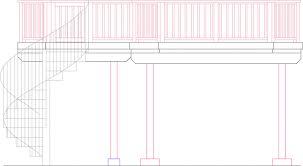 circular staircase plans modern 29 spiral stairs diy deck plans
