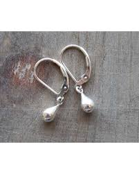earrings everyday shopping special tiny silver leverback earrings small