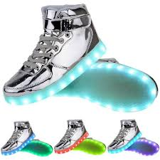 led light up shoes for boys 10 led shoes that light up at the bottom and change colors like