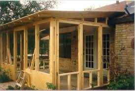 how to build a sunroom screened porch w shed roof plans project plan 90012 this simply