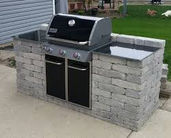 Outdoor Barbecue Kitchen Designs Kitchen Ideas Outdoor Bbq Kitchen Backyard Awesome Weber Grill