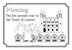 great sheets colouring sheets great fire of london the art jinni