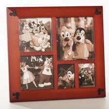 Mickey Mouse Photo Album Mickey Mouse Icon Wood Photo Frame Multi Window Disney Floral