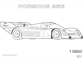 1982 porsche 956 coloring page free printable coloring pages