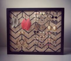 earring holder for studs earring holder diy tutorial great for studs creative ideas