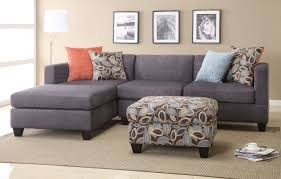 suede sectional sofas poundex f7183 2 pieces microfiber sectional sofa reversible chaise