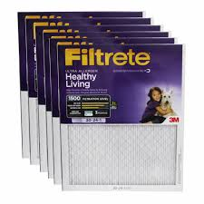 Filtrete Healthy Living Ultra Allergen Reduction Ac Furnace Air 20x24x1 3m Filtrete Ultra Allergen Filter 6 Pack Replacement