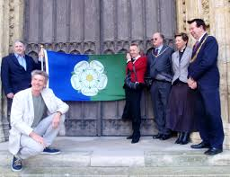 Flag Suit History Of The East Riding Flag Andy Strangeway