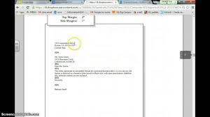 Business Letter Format Styles Personal Business Letter Youtube