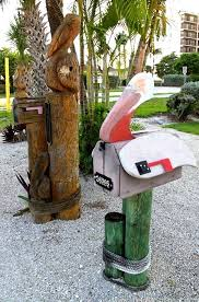 themed mailbox best 25 tropical mailboxes ideas on find a mailbox