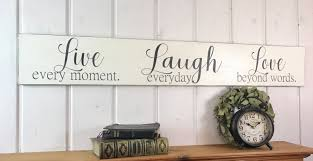 live laugh love home decor live laugh love sign rustic wood sign bedroom wall decor