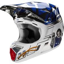 metal mulisha motocross gear racing limited edition v3 r2d2 star wars helmet chrome