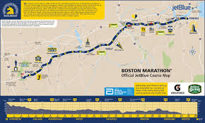 New York City Marathon Map by Boston Marathon Road Closures What Areas To Avoid And When