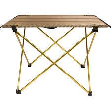 compact folding beach table amazon com trekology compact portable cing table folding