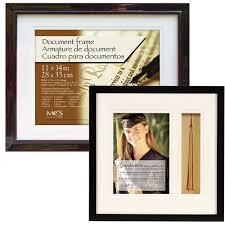 graduation frames with tassel holder graduation document frame with tassel tack 13x19 set of 2