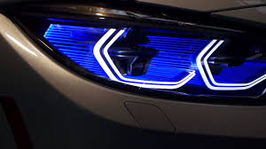 bmw laser headlights bmw m4 iconic laser light concept at the bmw welt youtube