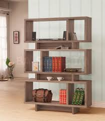 furniture battista large black distressed bookcase for rustic