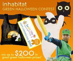 Contest Winning Halloween Costumes Win 200 Prizes Inhabitots U0027 Green Halloween Kids Costume