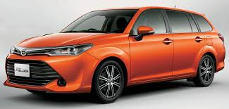 toyota corolla axio fielder facelift launched in japan