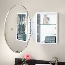 recessed mirrored medicine cabinets for bathrooms oval mirrored medicine cabinet bathroom bathroom mirrors