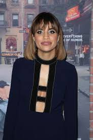how does natalie morales style her hair morales crashing premiere in los angeles