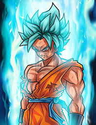 drawing super saiyan blue goku step step step step