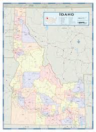 map of idaho county map of idaho latah trail project photos and maps latah