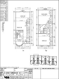 Townhome Floor Plan Designs Modular Townhouse Builders Build Prefab Townhomes