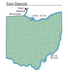 map usa detroit fort detroit ohio history central