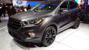 ford escape grey 2017 ford escape sport appearance package youtube