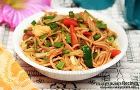hakka cuisine recipes hakka noodles recipe how to hakka noodles