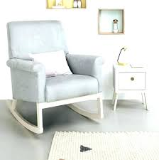 Reclining Rocking Chair For Nursery Baby Room Recliner Ocane Info