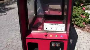 vintage challenger crane arcade and vending machine youtube