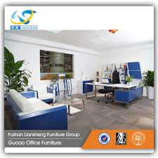 modern office furniture sofa set design for office waiting room