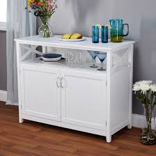 Solid Wood Buffet Table Attractive Kitchen Sideboard Table Wood Construction Dark Espresso