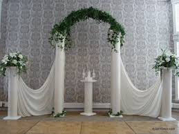 wedding arches and columns accents event planning rentals sioux falls sd