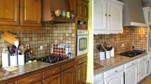 repeindre une cuisine en bois repeindre sa cuisine en bois relooking cuisine bois en photos