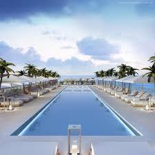 Home Design Show Miami Wallpaper Miami South Beach Hotel Pool Sunbed Water Palm