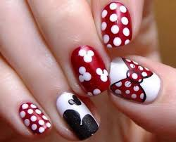 new nail design ideas classic amazing adorable mickey mouse nail