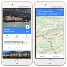 Offline Google Maps Google Maps Kaarten Offline Bewaren Appletips