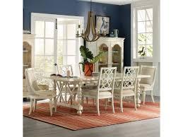 hooker furniture sandcastle 7 piece coastal dining set olinde u0027s