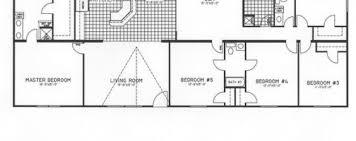 floor plans for 5 bedroom homes excellent simple 5 bedroom modular home best 25 mobile home floor