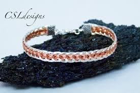 bracelet youtube images Two colour flat wire kumihimo bracelet jpg