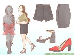 3 easy ways to dress an apple shape wikihow