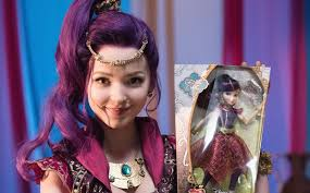 mal hair descendants dove cameron reveals new mal doll enter to win one